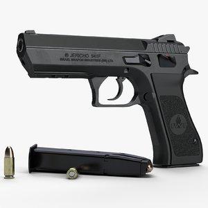 3d max jericho 941f 941 pistol