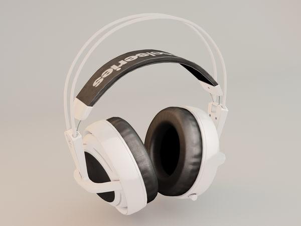 3d gameobject headphones steelseries siberia