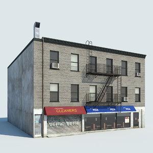 3d nyc building 03 model