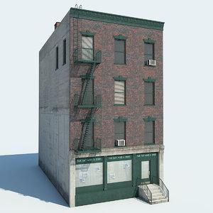 nyc building 3d max