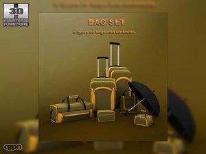 3d bag set