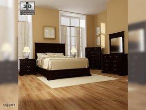 3d bedroom 14 set bed