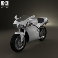 ducati 748 sport 3d model