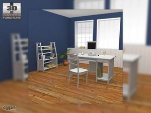 home workplase set 01 3ds