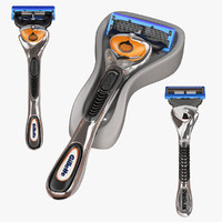 gillette fusion proglide 3d model