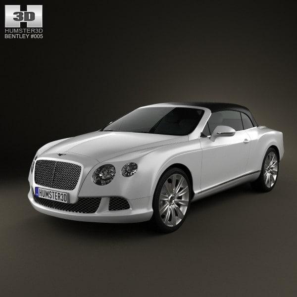 3d bentley continental gt model