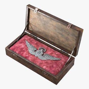 wood box wings emblem max