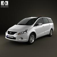 mitsubishi grandis 2012 3d model