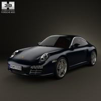porsche 911 targa 3d 3ds