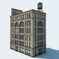 3d model nyc building