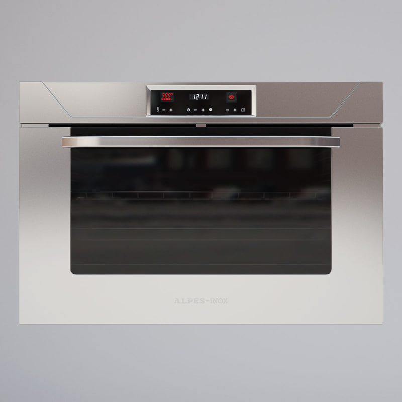 max alpes inox kitchen oven
