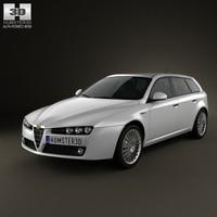 car 2008 3d max