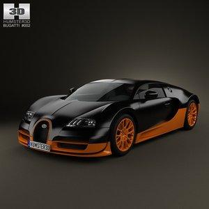 3d bugatti veyron grand model