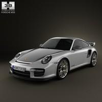 3d model porsche 911 gt2rs