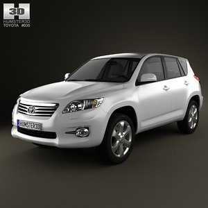 3d model toyota rav4 rav