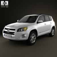 toyota rav4 rav 3d model