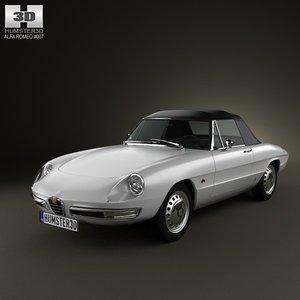 3d model 1 car