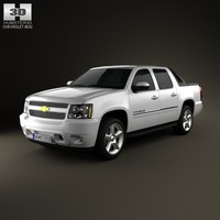 3d chevrolet avalanche 2011 model