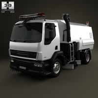 DAF LF Road Cleaner 2011