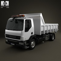3d model daf lf tipper
