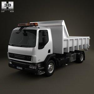 3d model daf lf tipper