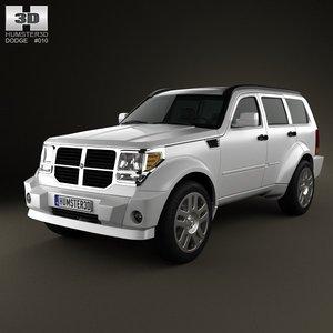 3d model dodge nitro 2011