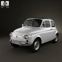 3ds fiat 500 1970