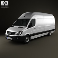 mercedes-benz sprinter 2011 3d c4d