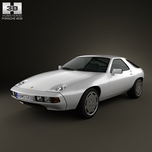 porsche 928 1981 3ds
