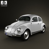 volkswagen beetle 1949 3d max