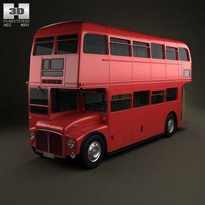 routemaster aec rm 3d model