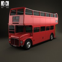 3d model routemaster aec rmc