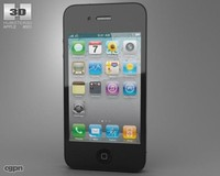 c4d iphone apple 4