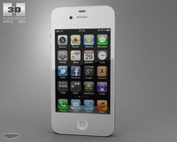 iphone apple 4s 3d model