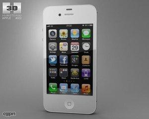 iphone apple 4s 3d model