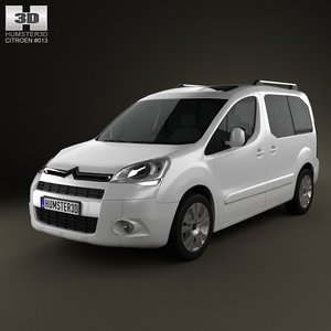 3d citroen berlingo multispace
