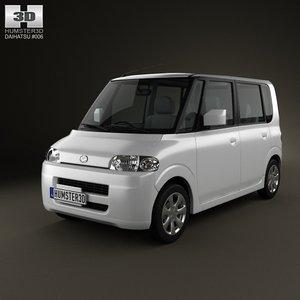 3d daihatsu tanto 2003 model