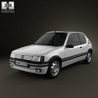Peugeot 205 3-door GTI 1983-1998