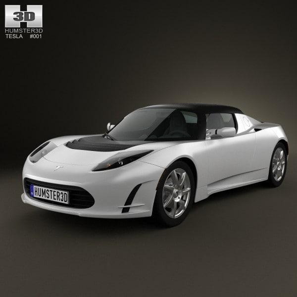 Wallpaper Tesla Roadster 2020 Hd 4k Automotive Cars: Tesla Roadster 2011 3d Max