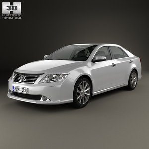 toyota camry 2012 3d model