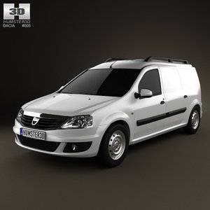 dacia logan van 3ds