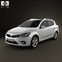 Kia Ceed SW with HQ interior 2011