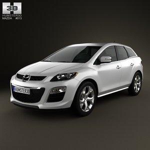3d model mazda cx-7 2012
