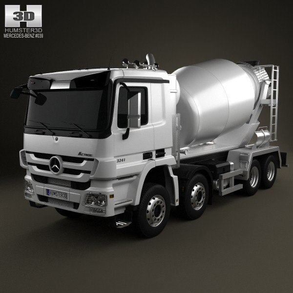 mercedes-benz actros mixer 3ds
