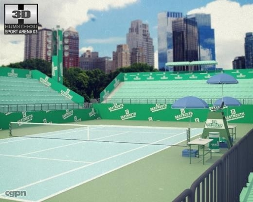3ds tennis arena