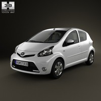 toyota aygo 2013 3d max