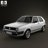 volkswagen golf mk2 3ds