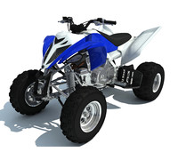 quad atv sport bike 3d max