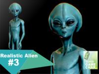 realistic aliens 3 3d model