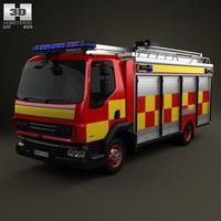 3d daf lf 2011 model